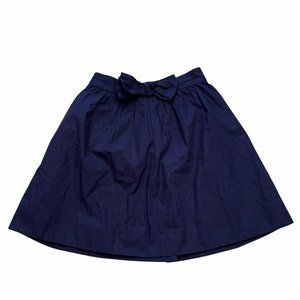 NWT Crewcuts from J.Crew Kids Skirt with Bow Navy
